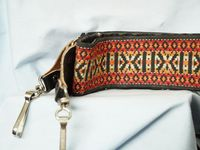 Camera  Wide Patterned Retro Hippie Neck Strap - Fits Most Cameras -